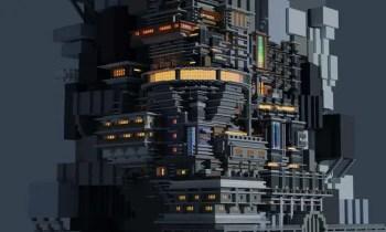 Cyberpunk in Minecraft