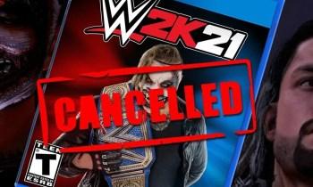 Nix mit WWE 2K21! Das Spiel ist jetzt auch offiziell gestrichen! - Bildquelle: WresteGamia auf YouTube