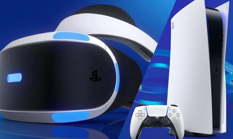 PSVR and PlayStation 5 (PS5) - (C) Sony