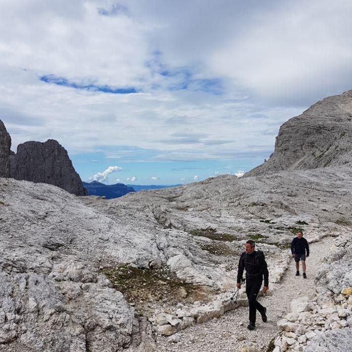 Domolites Cima della Rosetta Italian Alps
