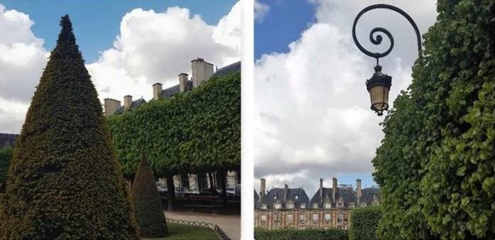 Place des Vosges Green Paris