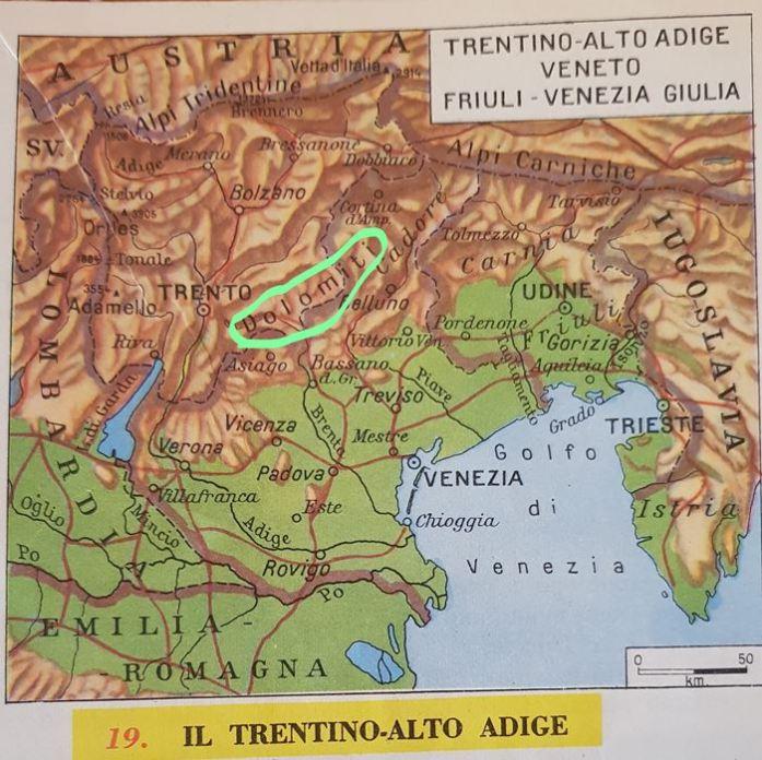 Val Venegia Italian Alps Dolomites