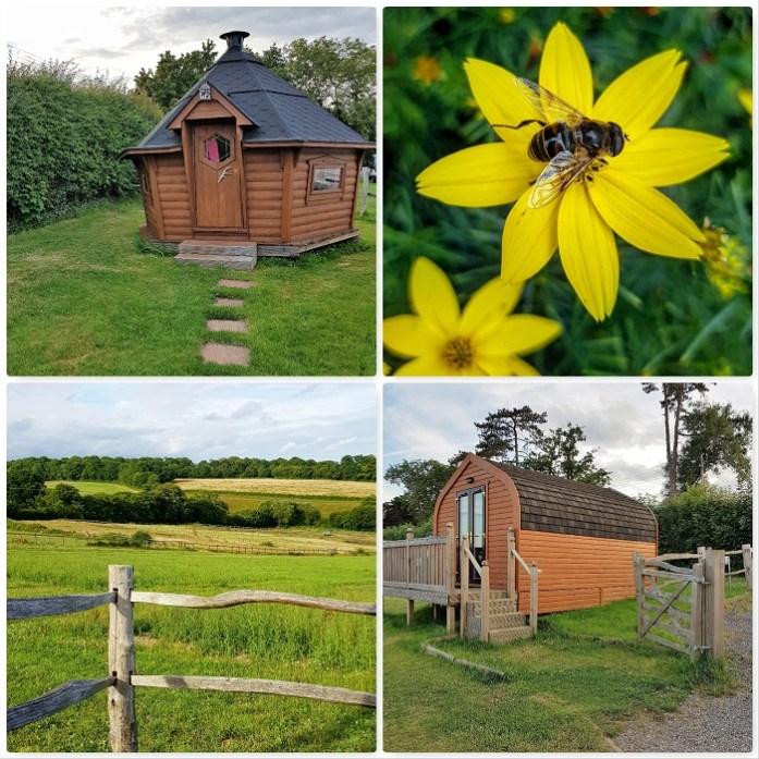 Engelse natuur kamperen