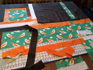 Green birds beginning layout