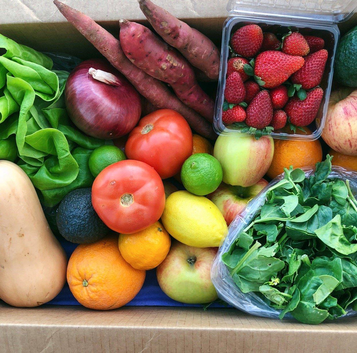 Fruit Amp Veggie Farm Box