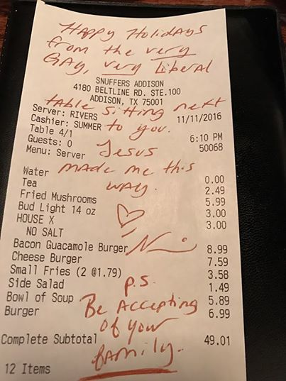 gay-woman-meal-receipt