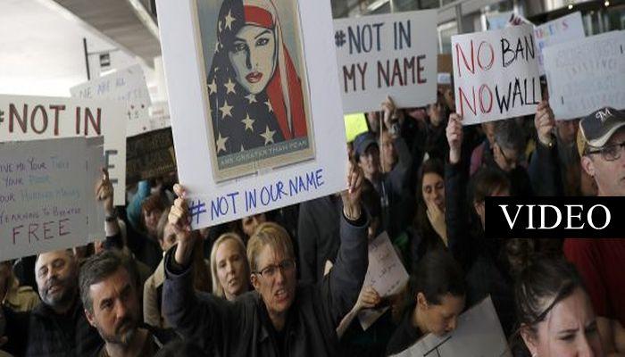 "Idiotic Liberal Protesters Chant ""No Borders, No Nations, Stop The Deportations"" [VIDEO]"