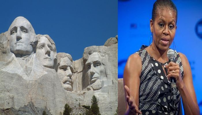 "ESPN Drools Over Michelle's Fashion Legacy: ""Carve Her Into Mt. Rushmore"""
