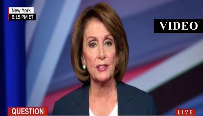 PROOF: Nancy Pelosi Thinks Trump Has A Time Machine – Or She Has Lost Her Damn Mind [VIDEO]