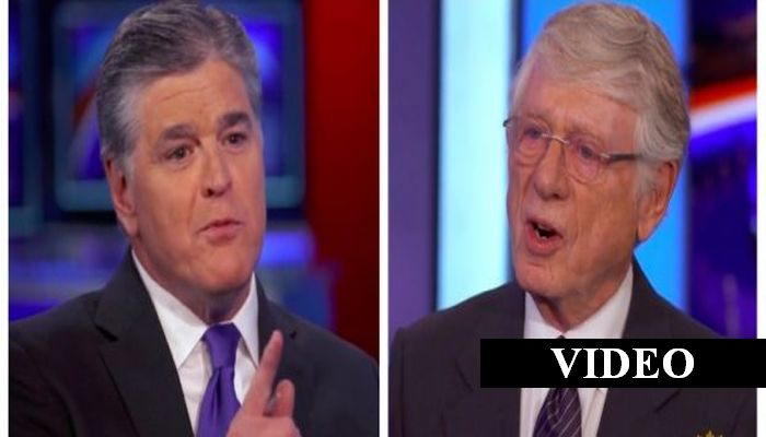 """DAMN! Things Got HEATED When Ted Koppel Told Sean Hannity — """"You're Bad For America"""""""