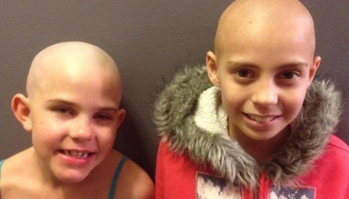 Girl Shaves Her Head To Help Friend, Then Pays Terrible Price For Her Kindness