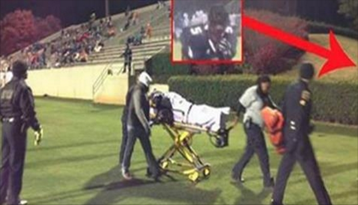 Football Player Figured Everyone Was Watching Injured Teammate, Had No Idea Someone Saw What He Did