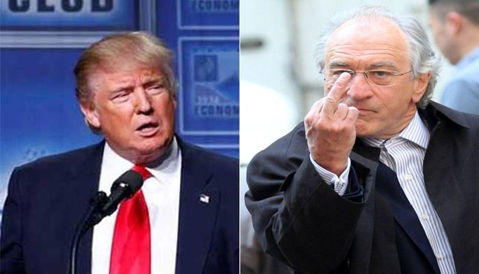 "Robert De Niro: Donald Trump is a ""MUTT"" Who Has ""Debased the Presidency"""