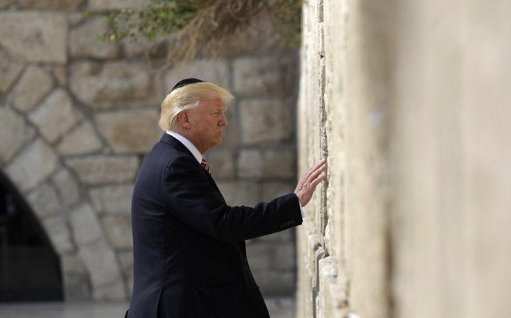 Trump's Visit To Western Wall Sparks Debate