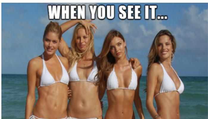 People Noticed Something Shocking About This Victoria's Secret Photo Shoot, Look Closer [PHOTOS]