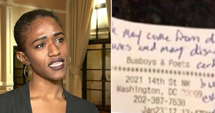 D.C. Waitress STUNNED After Reading What Texas Trump Supporters Wrote On Receipt [VIDEO]