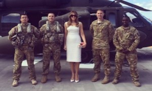Melania-Troops