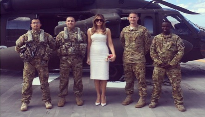 Can You See Why This Photo Of The First Lady Has Gone Viral? Look Closer