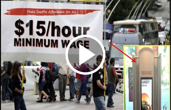 Protesters Demanding $15 Minimum Wage Walk Into Store, Stunned By What's Waiting For Them [VIDEO]