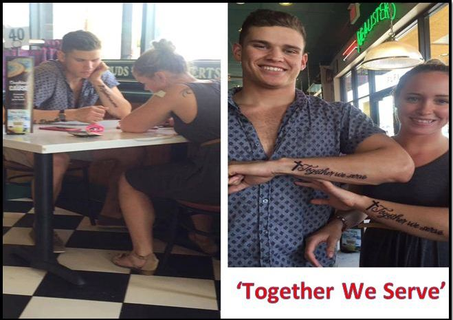 They Witnessed A Young Couple Praying Before Their Meal, But Were Stunned When With What They Did Next