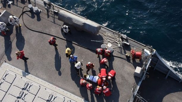 UPDATE – Navy Calls Off Search For Missing Sailors