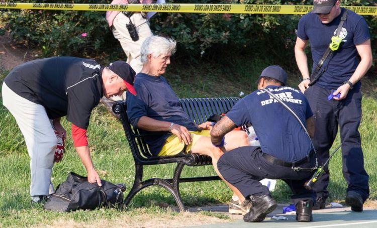 Gun Fire Rains Down On GOP Baseball Practice