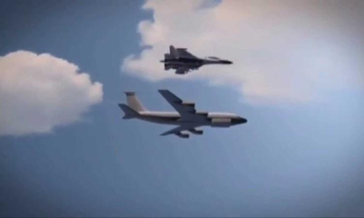 Russian Fighter Buzzes Unarmed Recon Plane Following Threats.