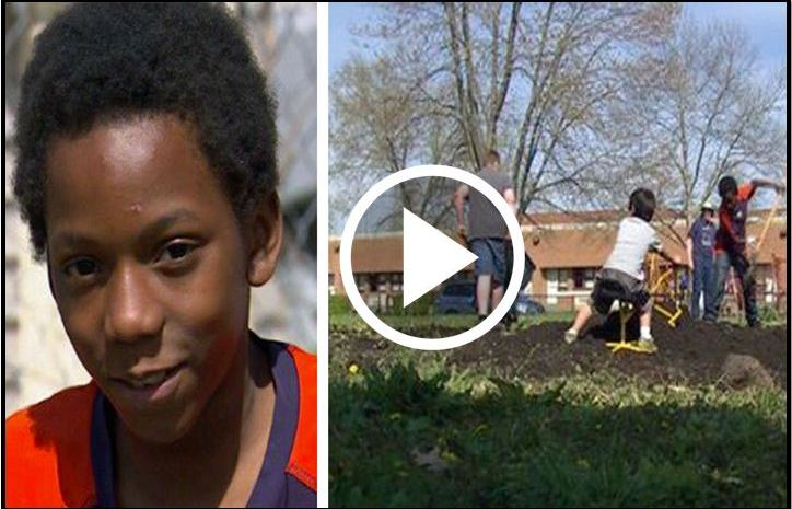 5th Grader Starts Garden To Feed His Poor Family, Now On A Mission To Feed His Entire City [VIDEO]