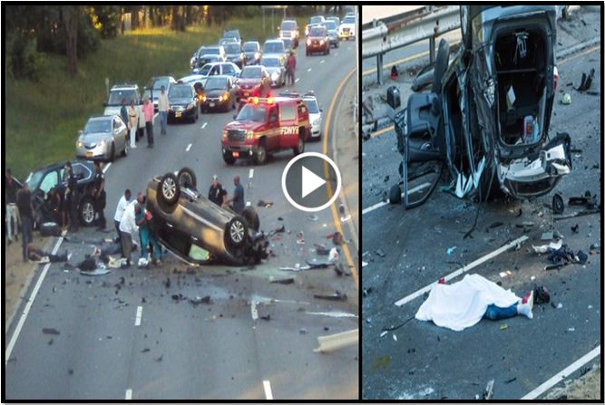 2 dead, 7 injured in 4-car crash on Grand Central Parkway in Queens [VIDEO]