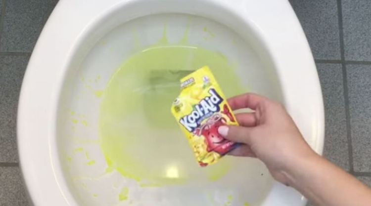 We Thought The Plumber Was Crazy When He Said To Use Kool-Aid. Then I Tried It And It Worked [WATCH]