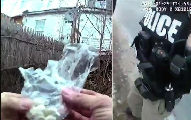 Baltimore Police Officer Caught Planting Drugs On Suspected Drug Dealer