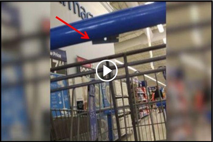 Hidden Razor Blades Found In Several Walmart Stores Shopping Carts [VIDEO]