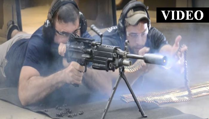 This Machine Gun Suppressor Meltdown Is What America Is All About