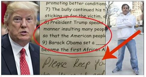 This Father Annihilated Anti-Trump Teacher After What She Hid In Kid's Homework
