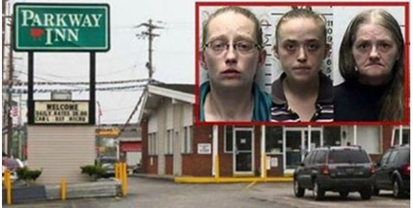 Police Run Out Of Motel In Tears After Finding 3 Women's Sick Use For Sheets