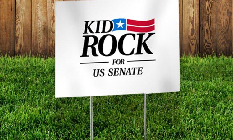 Kid Rock Launches Senate Campaign Web Site