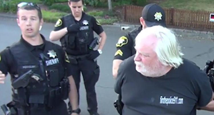 Portland Cop Blockers Have 2 Sexual Deviants Filming Children of Police Officers at School