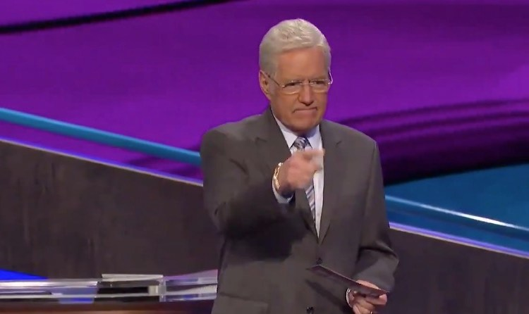 Alex Trebek Chokes Back Tears After Surprise 'Final Jeopardy' Question [WATCH]
