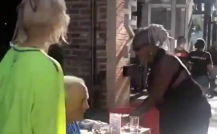 'F*ck White People!' – BLM-Biden Supporters Scream at Elderly Couple Dining Outdoors in Pittsburgh, Steal Their Drinks Off Table (VIDEO)