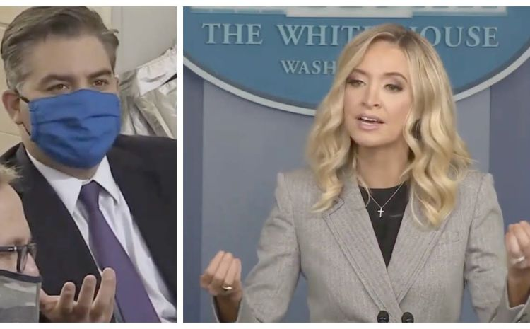 Kayleigh McEnany Brilliantly Turns Jim Acosta's Attack On President Trump Into Opportunity To Cite Brutal Examples Of CNN Lies And Fake News [VIDEO]