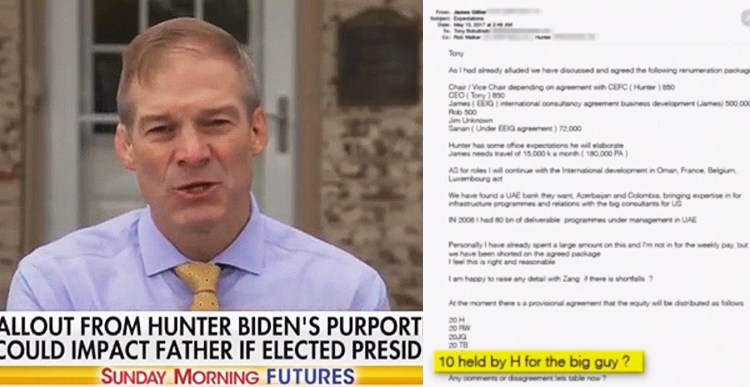 Jim Jordan VERIFIES Hunter Biden laptop emails, not to mention MEDIA COVER-UP