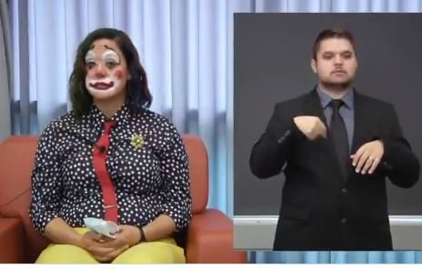 Another Crackpot Democrat: Oregon's Health Minister Dresses as a Clown to Announce Latest Coronavirus Deaths