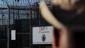 """The outside of the """"Camp Five"""" detention facility is seen at U.S. Naval Station Guantanamo Bay December 10, 2008 in this pool image reviewed by the U.S. military. REUTERS/Mandel Ngan/Pool/Files"""