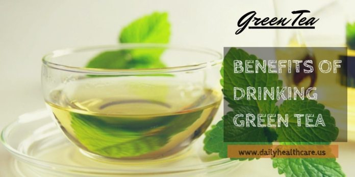 The benefits of drinking green tea