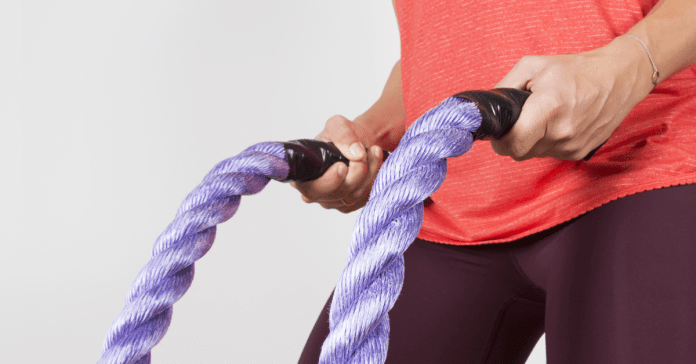 Best Battle Rope Workout to Burn Calories at Home