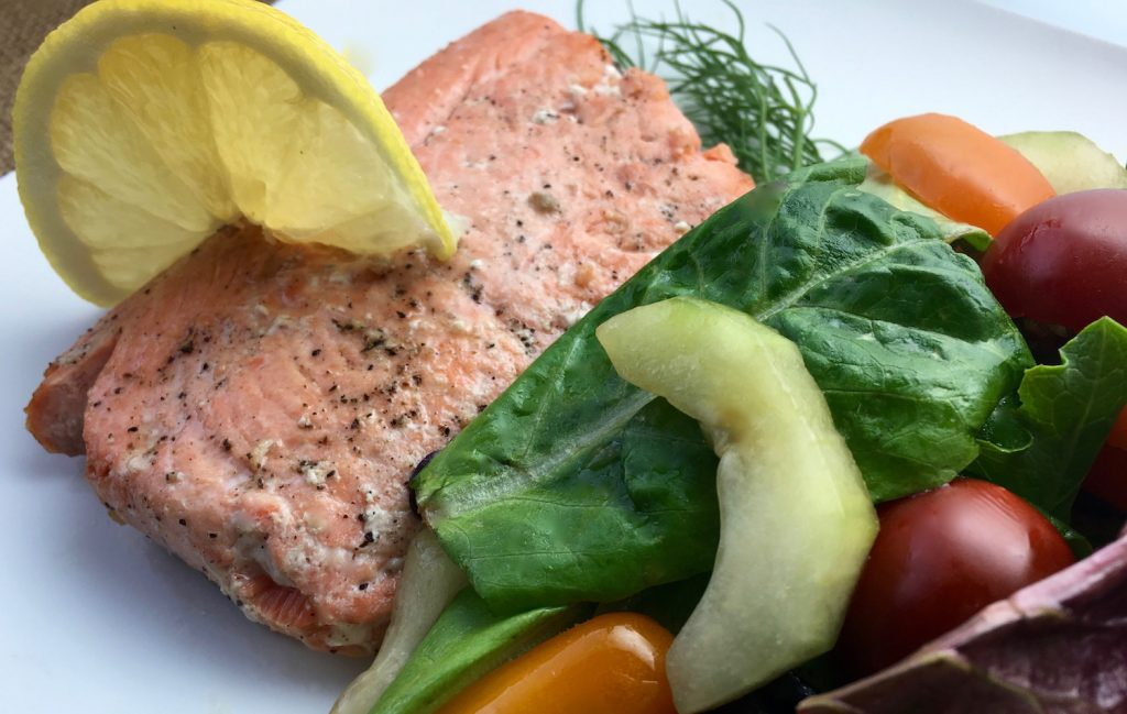 dill-lemon-sautèed-salmon-with-herb-salad