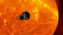 NASA's Touch the Sun Spacecraft