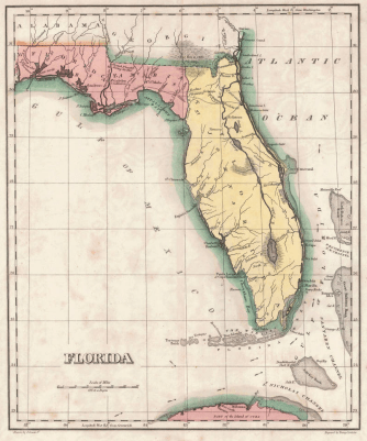 1822_Geographical,_Statistical,_and_Historical_Map_of_Florida_by_Henry_Charles_Carey,_Isaac_Lea_and_Fielding_Lucas