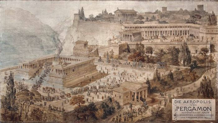 800px-Acropolis_of_Pergamon_Friedrich_Thierch_1882