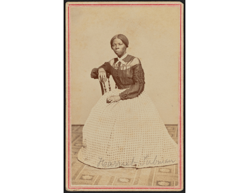 Image courtesy of the Library of Congress This photo, taken by Auburn photographer Benjamin Powelson, captured Tubman just a couple of years after her heroic service during the Civil War.